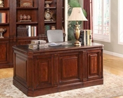 Parker House Wellington Double Pedestal Executive Desk PHWEL-480
