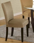 Parson Dining Chair in Taupe CO-101494 (Set of 2)