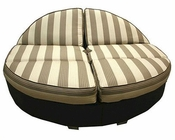 Patio Heaven Outdoor Round Double Chaise Santa Barbara HE-SB-RC-2