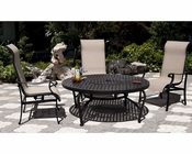 Patio Set w/ Round Table Miramar by Sunny Designs SU-4706s