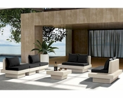 Patio Sofa Set w/ Coffee Table in Contemporary Style 44PH62-SET