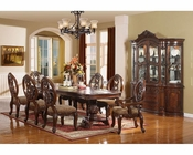Pedestal Dining Set in Cherry MCFD6008
