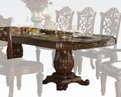 Pedestal Dining Table Vendome Cherry by Acme Furniture AC60000