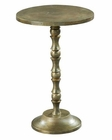 Pedestal Side Table Oiled Bronze by Hekman HE-27436