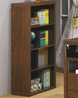 Peel Bookcase with 4 Shelves CO800833
