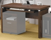 Peel Computer Desk with Keyboard Tray CO800831