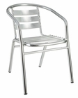 Perch Indoor-Outdoor Dining Chair in Silver by Modway MY-EEI549SLV