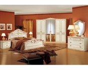 Platform Bedroom Set Romana European Design Made in Italy 33B481