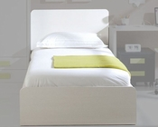 Platform Twin Bed with Headboard European Design Made in Spain 33JB17