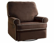 PRI Birch Hill Swivel Recliner in Brown PR-DS-913-006-178