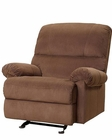 PRI Easton Rocker Recliner in Chocolate PR-DS-1098-007-083