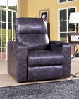 PRI Power Recliner w/ USB & Storage in Magnetite PR-1985-178-110