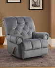 PRI Lawrence Rocker Recliner in Navy PR-1082-007-091