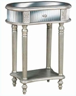 Pulaski accent Table in Shimmery Frost Finish PF-549209