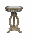 Pulaski accent Table w/ Antiqued Top Mirror PF-675116