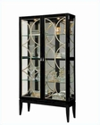 Pulaski Cabinet Curio in Black Granite PF-21465