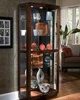 Pulaski Cabinet Curio in Pacific Heights PF-21221