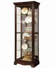 Pulaski Cabinet Curio in Warm Cherry PF-21457