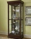 Pulaski Cabinet Curio with Side Entry PF-21306