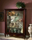 Pulaski Two Way Sliding Door Mantel Cardigan Curio PF-20703