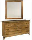Rastic Dresser w/ Mirror Harbor Springs by Hekman HE-941501RL-DM