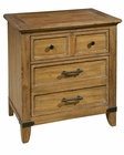 Rastic Two Drawer Nightstand Harbor Springs by Hekman HE-941503RL