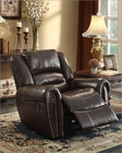 Reclining Brown Chair Center Hill by Homelegance EL-9668BRW-1