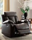 Reclining Chair Ackerman by Homelegance EL-8500-1