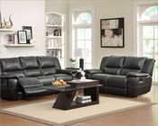 Reclining Sofa Set Cantrell by Homelegance EL-9778BLK-SET