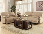 Reclining Sofa Set Elsie by Homelegance EL-9713NF-SET