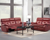 Reclining Sofa Set Wallace by Homelegance EL-9604RED-SET