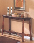 Rectangular Console Table in Dark Cherry Finish AN-OSCT76
