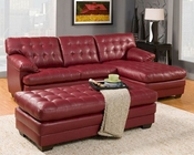 Red Sectional Sofa Set Brooks by Homelegance EL-9739RED-SET