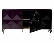 Renata Purple 3 Door Buffet 44DLS504AP