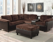Reversible Sectional Sofa Set Cleavon by Acme Furniture AC51665
