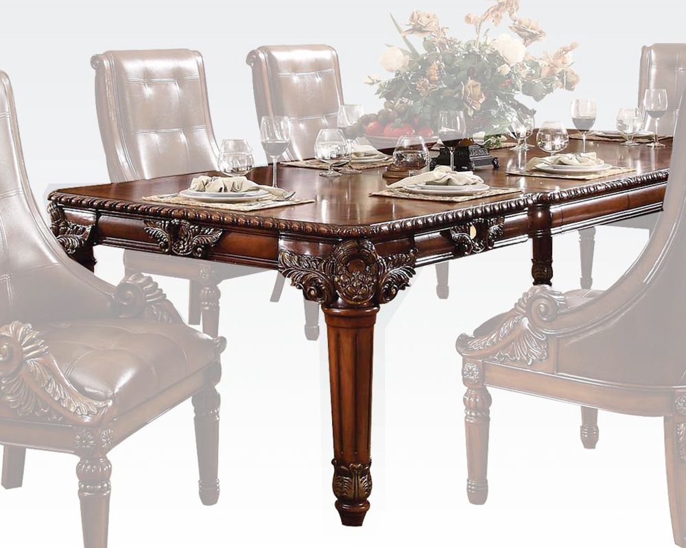 Rich Cherry Dining Table Winfred by Acme Furniture AC