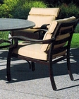 Riva Patio Arm Chair by Sunny Designs SU-4715-A (Set of 2)