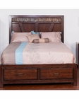 Rock Ridge Bed by Sunny Designs SU-2379WT-BED