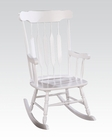 Rocking Chair in White by Acme Furniture AC59224