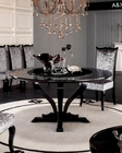Round Crocodile Lacquer Table in Contemporary Style 44D836-150
