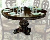 Round Dining Table Deryn Park by Homelegance EL-2243-76