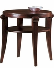 Round End Table Metropolis by Hekman HE-704030067