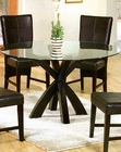 Round Glass Dining Table CO-101071