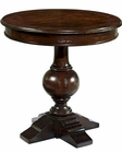 Round Lamp Table Charleston Place by Hakman HE-943706CP