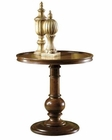 Round Pedestal End Table Tuscan Estates by Hekman HE-72311