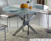 Round Table w/ Extension in Modern Style 2303