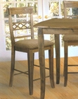 Rustic Diamond Back Counter Height Chair AN-CR6511
