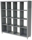 Sabra 4x4 Shelving Unit by Euro Style EU-09760