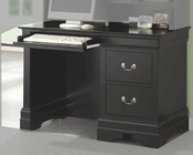 Saint Laurent Single Pedestal Computer Desk CO201077