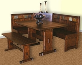 Santa Fe Breakfast Nook Set SU-0230DCs